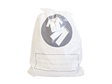 EMERGENCY CLOTHES BAG | Polyethylene bag with loop handle for storing and identifying the clothes of patients admitted in emergency.