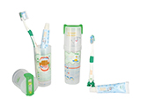 "JUNTA DE ANDALUCIA EDUCATIONAL DENTAL KIT | Kit developed in 2009 for the Junta de Andalucía and its programme promoting dental health in the classroom, ""Learn to Smile"" (Aprende a Sonreir)."