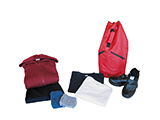 UNISEX CLOTHING KIT | Standard clothing kit for an adult: tracksuit, underwear, t-shirts and velcro shoe delivered in a duffel bag style rucksack. Various sizes available.