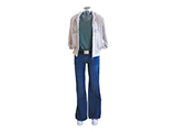 WOMEN CLOTHING KIT (MANNEQUIN) | Example of female clothing kit, available in various sizes.