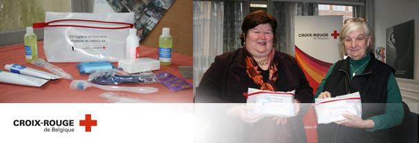 Kits de higiene y bienestar para personas sin hogar
