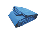 REINFORCED TARPAULIN | Canvas tarpaulin for covering and protecting goods against changing weather conditions. Available in various qualities, colours and sizes.